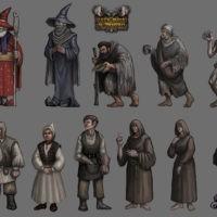 Let's Build a Tavern - postacie