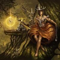 Steampunkowy Druid