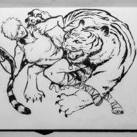Amazonka i Tygrys