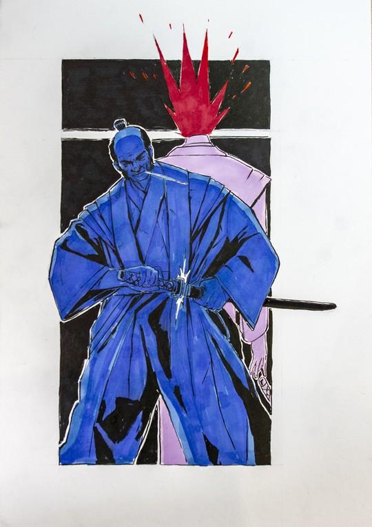 samurai chop