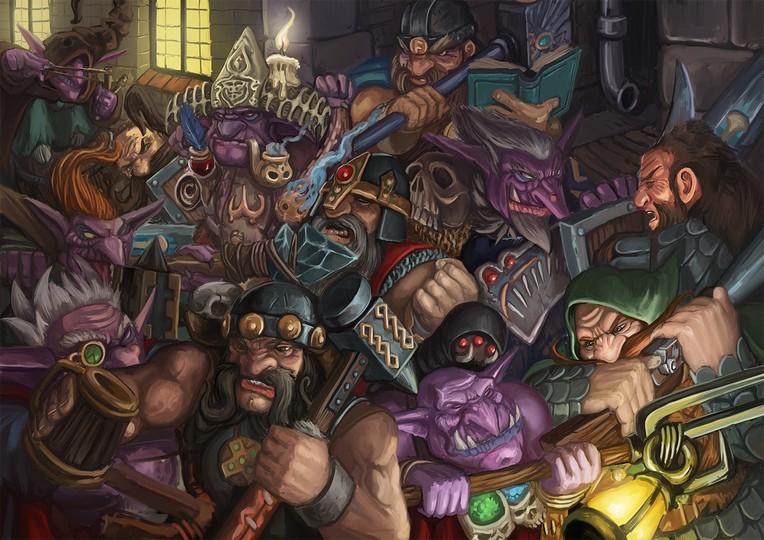 goblins vs dwarves final